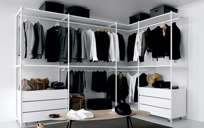 Armarios y vestidores de diseo para habitaciones y dormitorios