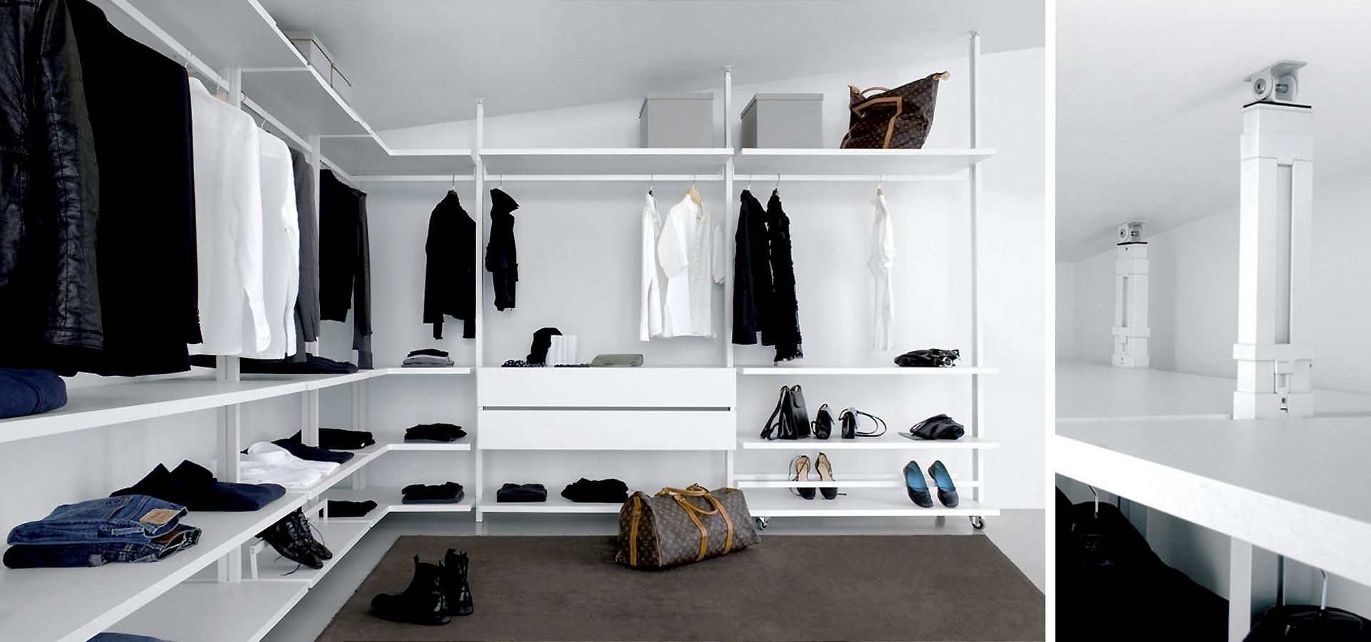 Armarios y vestidores de dise o para habitaciones y for Armarios de habitacion