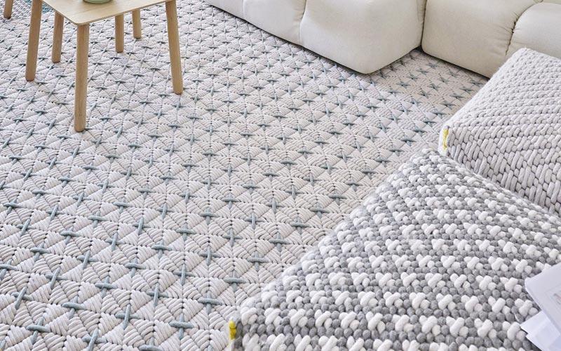 alfombra trenada de diseo - Alfombras De Diseo