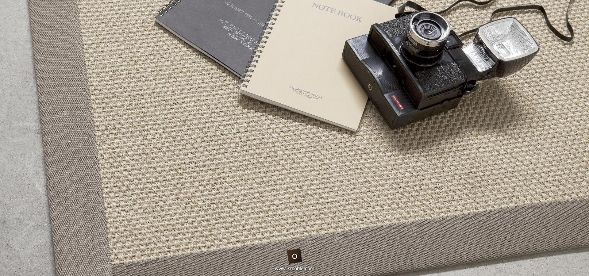 Alfombras fibras naturales saln con alfombra de yute - Alfombra fibra natural ...