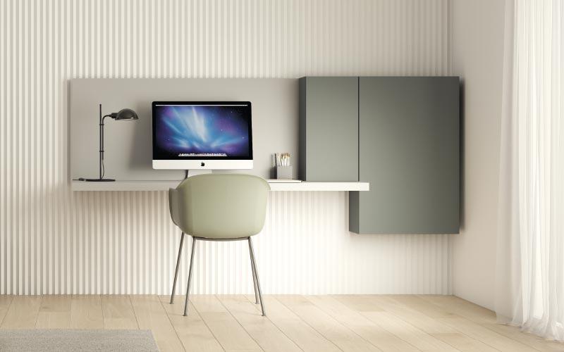 Escritorios y mesas para habitaciones y dormitorios juveniles ismoble - Escritorio abatible pared ...