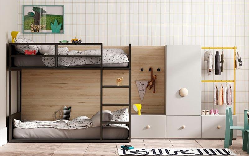 Literas de diseño para habitaciones y dormitorios juveniles · ISMOBLE