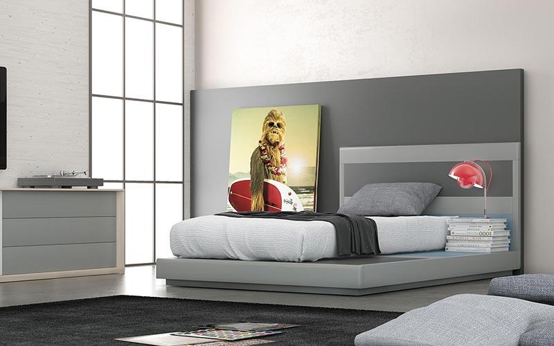 Camas de diseño para habitaciones y dormitorios juveniles · ISMOBLE
