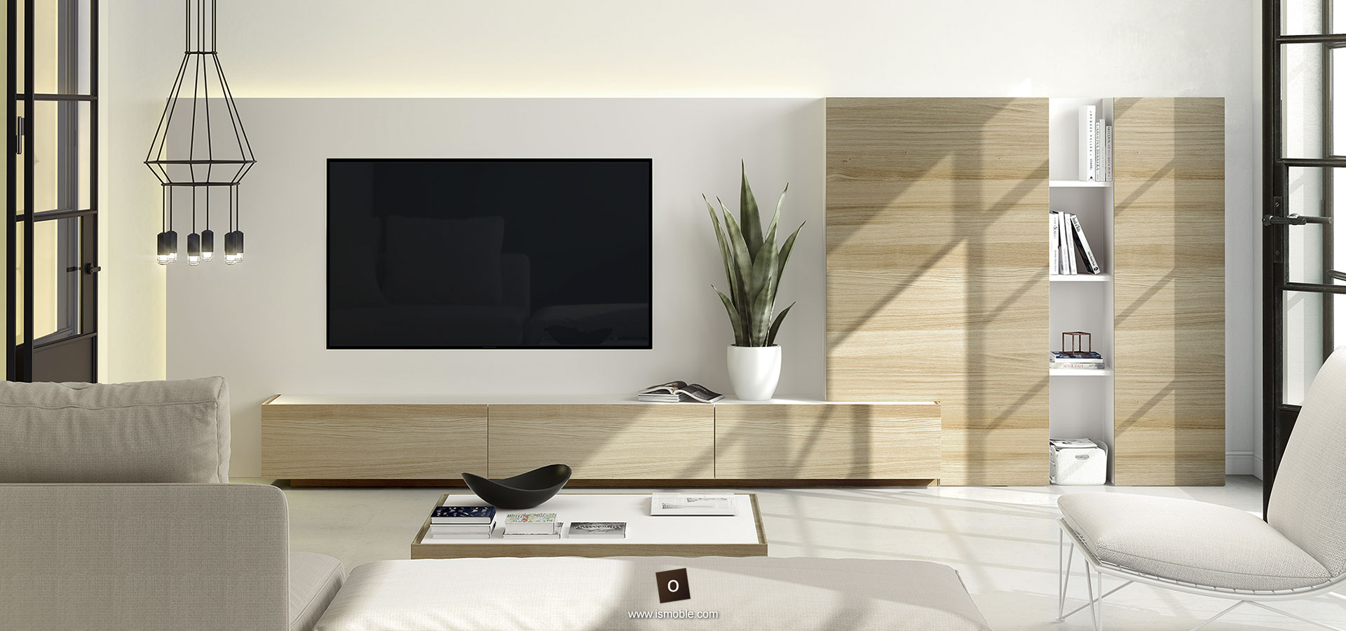 Muebles Para La Sala De Estar Y Televisi N De Dise O Ismoble # Muebles En El Puig