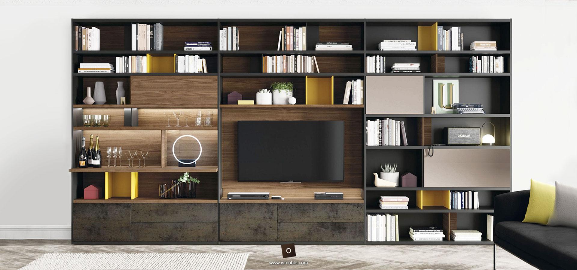 Muebles Para La Sala De Estar Y Televisi N De Dise O Ismoble # Muebles Suspendidos Salon