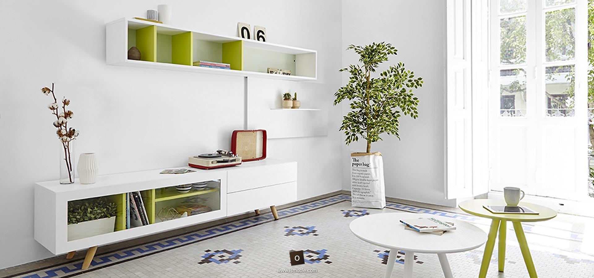 Muebles Para La Sala De Estar Y Televisi N De Dise O Ismoble -> Medidas De Una Sala De Tv
