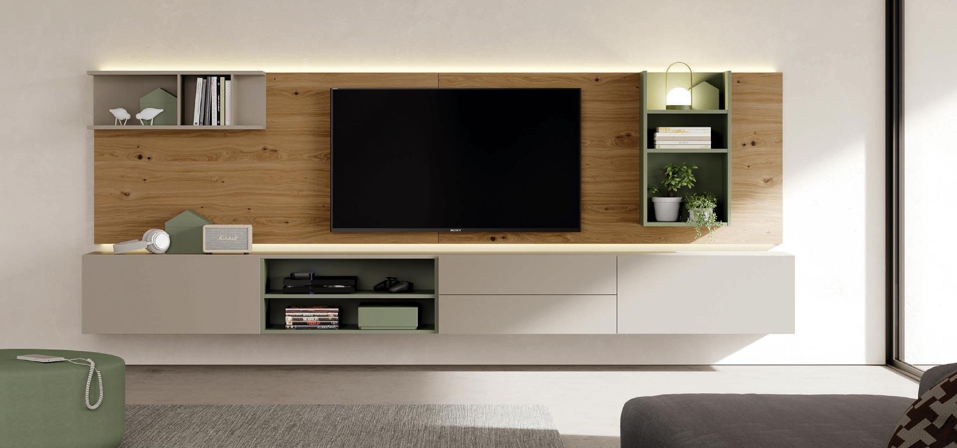Muebles Para La Sala De Estar Y Televisi N De Dise O Ismoble # Muebles Suspendidos Para Tv