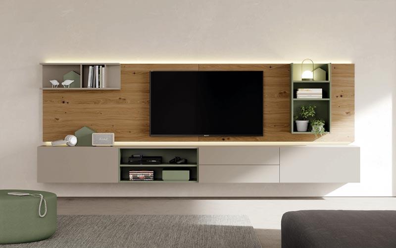 Muebles para la sala de estar y televisin de diseo ISMOBLE