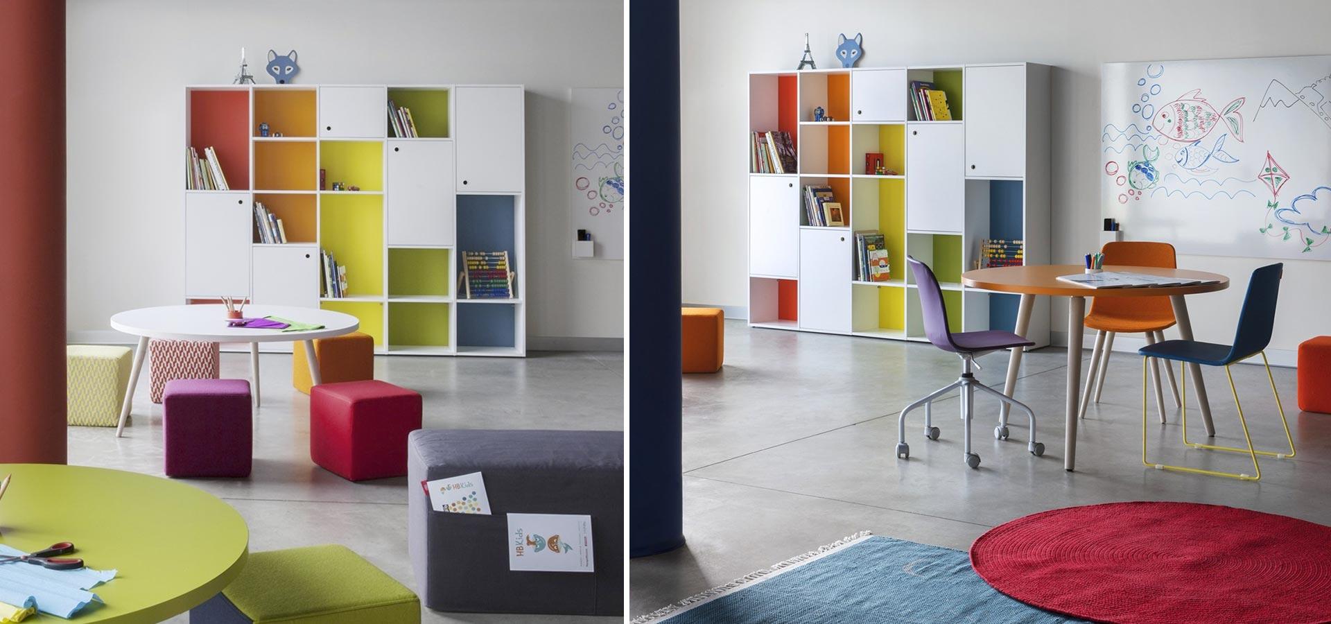 Estanterias para habitaciones y dormitorios juveniles - Estanteria pared blanca ...