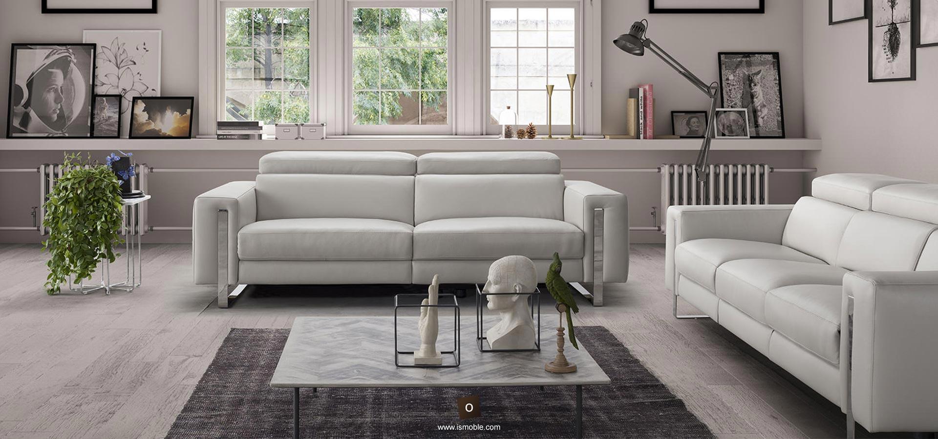 Sof s de disseny per la sala d 39 estar ismoble - Precios de sofas de piel ...