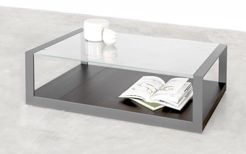 Mesas de centro por delante del sof de dise o ismoble - Mesas de cristal de centro ...