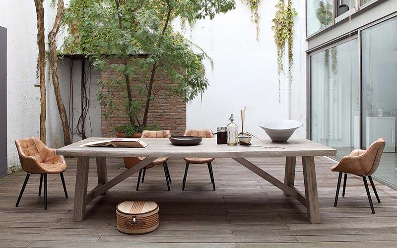 Mesas de comedor fijas y extensibles de dise o ismoble for Mesas de comedor de madera de diseno